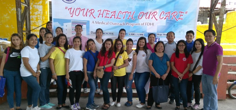 FDHI Medical Outreach at Brgy. Bodega, Floridablanca, Pampanga