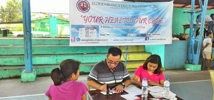 FDHI Medical Outreach at Ressetlement Brgy. Palmayo, Floridablanca, Pampanga