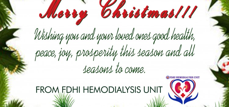 FDHI HD Patients Chirstmas Party 2016