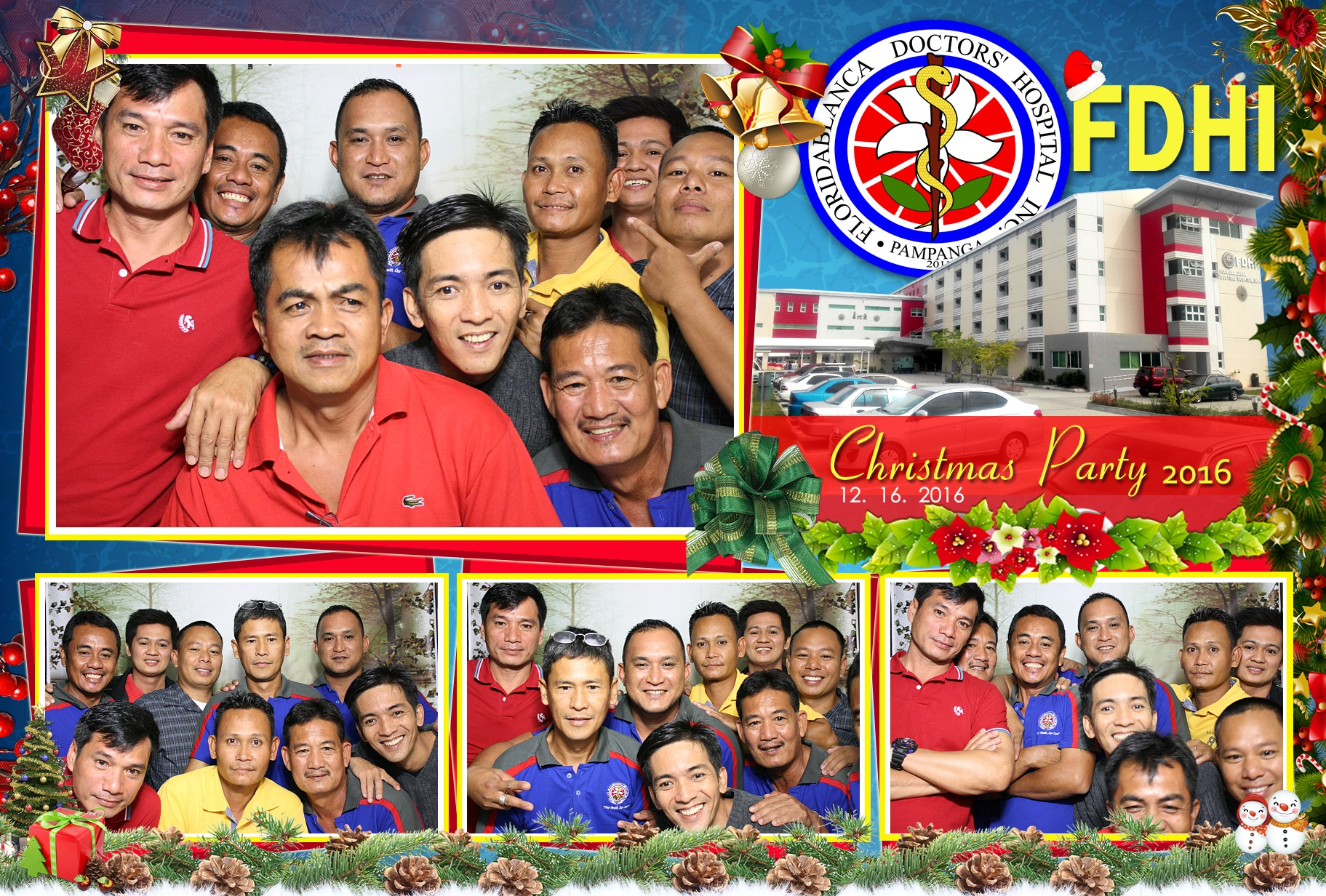 FDHI Christmas Party Photo Booth 2016