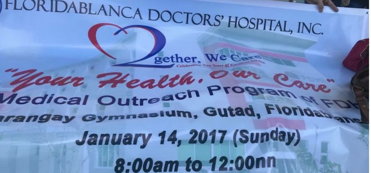 FDHI First Medical Outreach Program for 2018